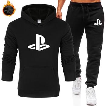 2020 Men/Woman Pullover PlayStation Hoodies Camouflage Sleeve Jacket Hoody Winter Fleece Plus Sweatshirt Size S-XXXL