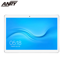 ANRY 4G LTE 10 inch Tablet Phone Deca 10 core Phablet Android 8.1 1920x1200 IPS 4GB RAM 64GB ROM Dual SIM Card Camera 13MP pipo x10 pro mini pc ips tablet pc dual os android windows 10 tv box intel z8350 quad core 4g ram 64g rom 10000mah bluetooth