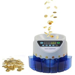 Automatic Electronic Coin Counting Machine Batch Counting Coin Counter Sorter New Pound Coin For GBP Sterling Coin CountinG(China)