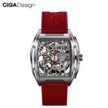 цена на CIGA Design Top Design CIGA Mechanical Watch Z Series Watch Barrel Type Double-Sided Hollow Automatic Mechanical Men Watch