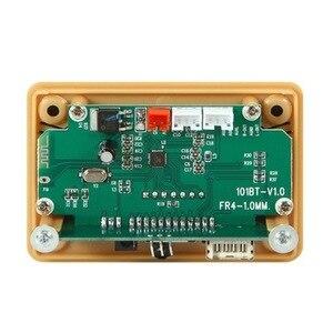 Image 5 - Bluetooth 5.0 MP3 デコーダのデコードボードモジュール 5 v 12v 車の Usb MP3 プレーヤー WMA WAV TF カードスロット /USB/FM リモートボードモジュール
