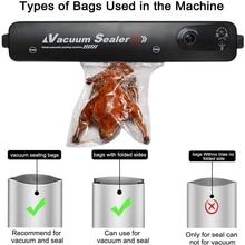 220V/110V Mini Handheld Vacuum Sealer Machine Automatic for Food Bag Savers Dry & Moist Modes Compact Design Vacuum Packing Set