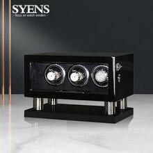 Горячая продажа коробка для хранения часов деревянная автоматическая часы winders часы коробка с подзаводом мотор шейкер watchwinder 3 поворот