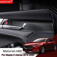 Стайлинг автомобиля abs автомобильные наклейки для внутренней
