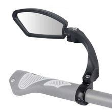 Espelho de bicicleta 360 graus girar mtb bicicleta estrada guiador retrovisor montar segurança flexível ciclismo volta espelho dobrado cego bc0124