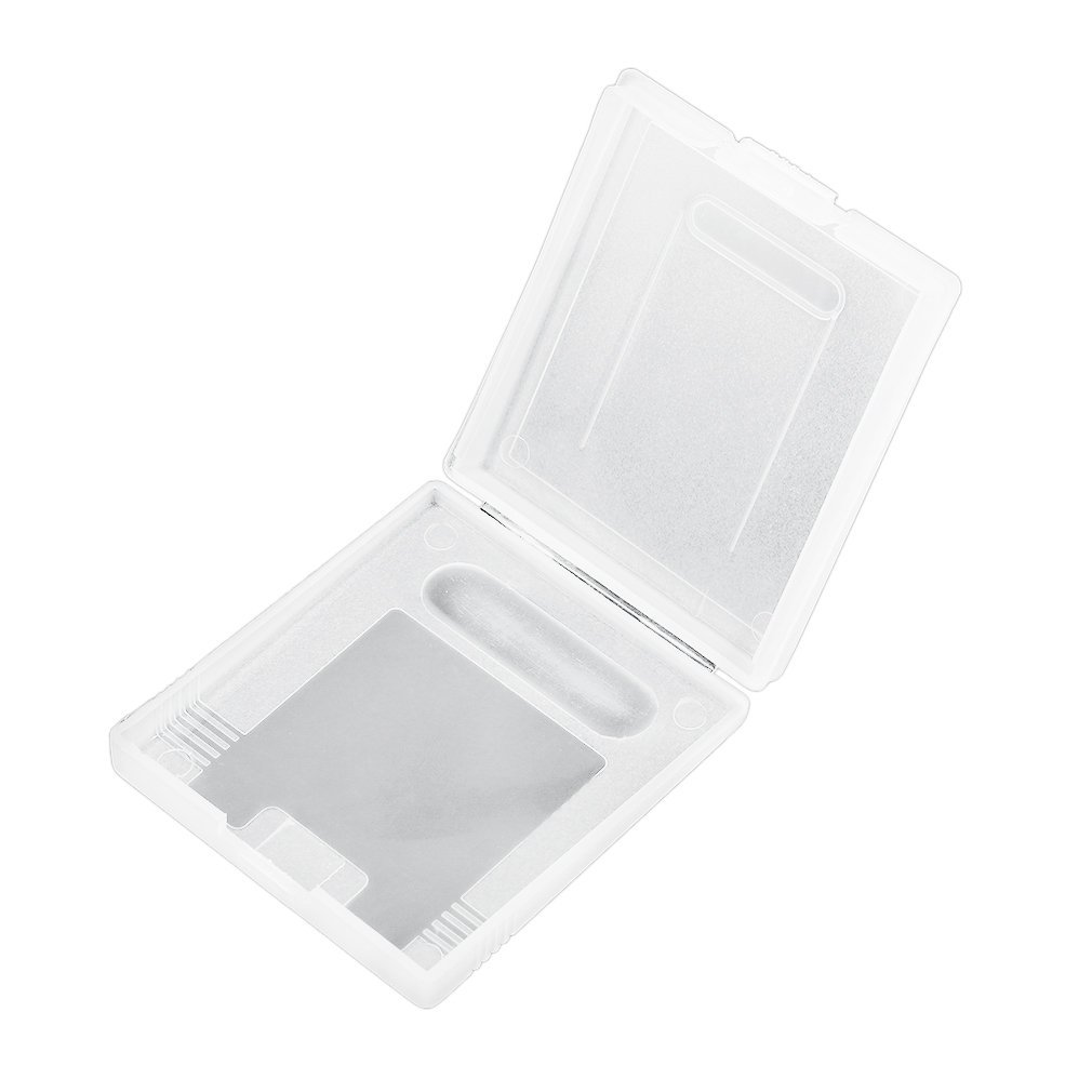 Clear Plastic Game Cartridge Cases Storage Box Protector Holder Dust Cover Replacement Shell For Nintend GameBoy GB GBC GBP