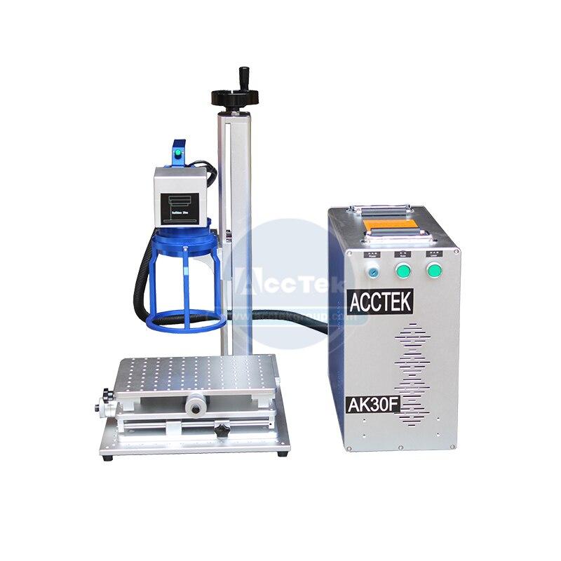 Hot Sale AccTek Handheld Fiber Laser Marking 20w 30w 50w 3d Laser Marking Machine