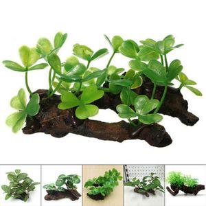 Image 2 - Simulation Artificial Fake Turtle Fish Tank Plants Grass Aquarium Aquatic Landscaping Decoration Ornament