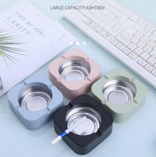New Creative Ashtray Home Personality Office Living Room Bedroom 4 Tobacco Square Ashtray Holder Portable Gadgets
