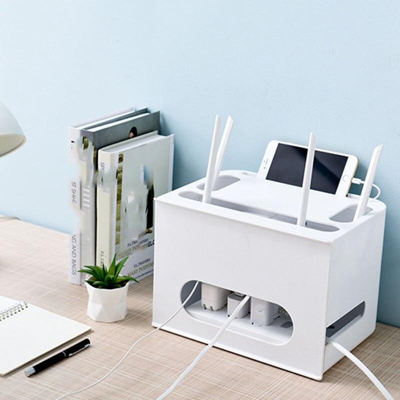 3-Двухслойный ящик типа беспроводной WIFI маршрутизатор коробка для хранения штепсельная плата кронштейн Кабельный органайзер для хранения смотреть на Алиэкспресс Иркутск в рублях