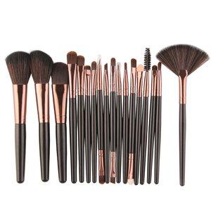 18/15 PCS/Set Marbling Makeup Brushes Kit Eye Shadow Brushes MAANGE Makeup Tools Set Brushes Suit Foundation Eye Lip Eyeshadow