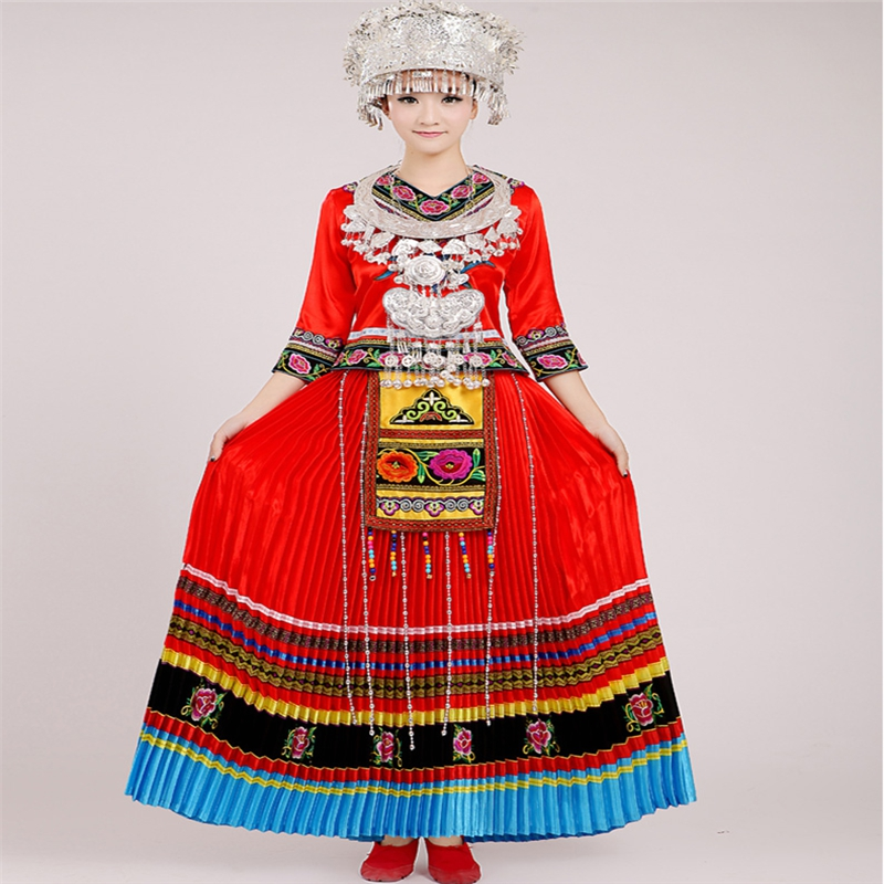African Clothes For Women Mongolia Dance Costumes For Women Modern Dance Clothing Minority Dance Princess Cosplay Clothing