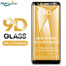 10 Pieces Full Coverage 9D Tempered Glass For Samsung Galaxy A6 2018 A8 Plus A3 A5 A7 2017 2016 A320 A520 A720 A310 A510 A710(China)