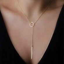 цена на Gold Silver Star Heart Necklace Moon Coin Tassels Bar Necklaces Imitation Pearl Choker Pendants For Women Jewelry Chocker