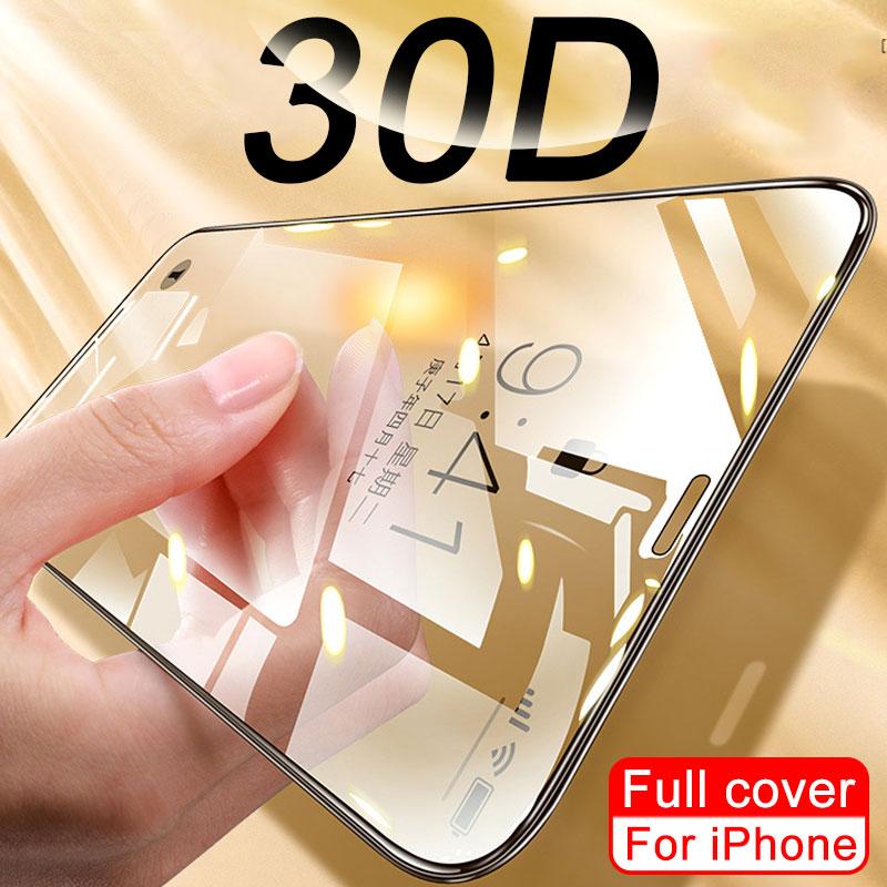 Полное покрытие стекло для iPhone 11 Pro XS MAX XR X SE 2020 защита экрана изогнутое закаленное стекло для iPhone XR 10 7 8 6Plus пленка|Защитные стёкла и плёнки|   | АлиЭкспресс - Топ аксессуаров для смартфонов