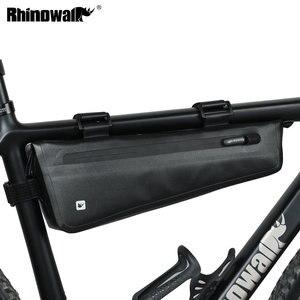 Image 1 - Rhinowalk אופניים מסגרת תיק 2.8L לכביש MTB מתקפל אופני אחסון כלי סלים משולש מסגרת תיק מלא עמיד למים