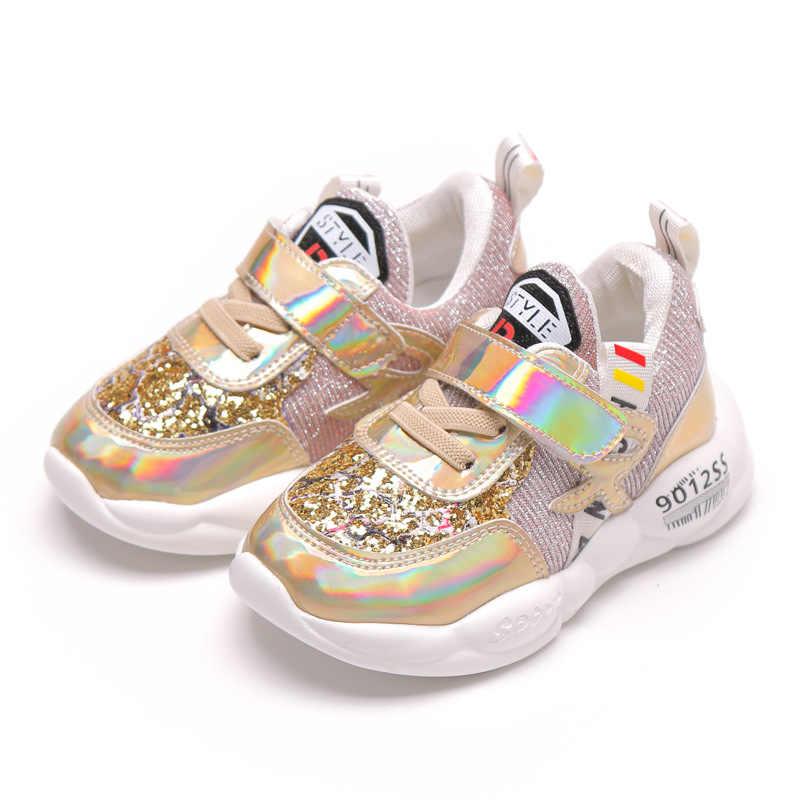 2020 Voorjaar Nieuwe Ademende Casual Schoen Voor Jongens Meisjes Comfortabele Zachte Bodem Kinderen Schoenen Slijtvast Licht Maat 21 -33