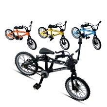 Мини-палец-bmx набор фанаты велосипедов игрушка сплав палец BMX функциональный детский велосипед палец велосипед отличное качество игрушечные велосипеды bmx подарок