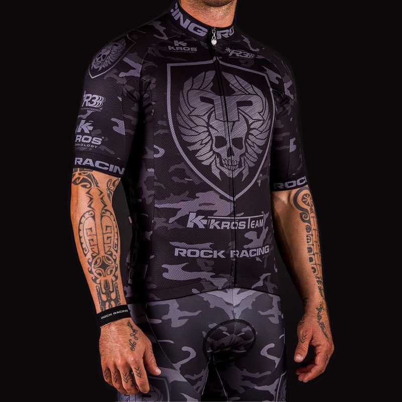 2016 Camouflage Pro Team Rock Racing Bike Jersey Bicicleta Ropa Maillot Ciclismo Breathable MTB Cycling Clothing: Size S-6XL