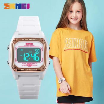 SKMEI 1614 Children Digital Sport Watches Chronograph Stopwatch Luminous 50m Waterproof Kids Wristwatches For Boys Girls Relojs