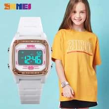Skmei 1614 детские цифровые спортивные часы хронограф секундомер