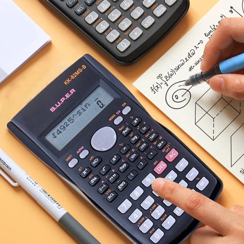 Портативный научный калькулятор канцелярские принадлежности для школы офиса инженерный Многофункциональный школьный инженерный научный ...