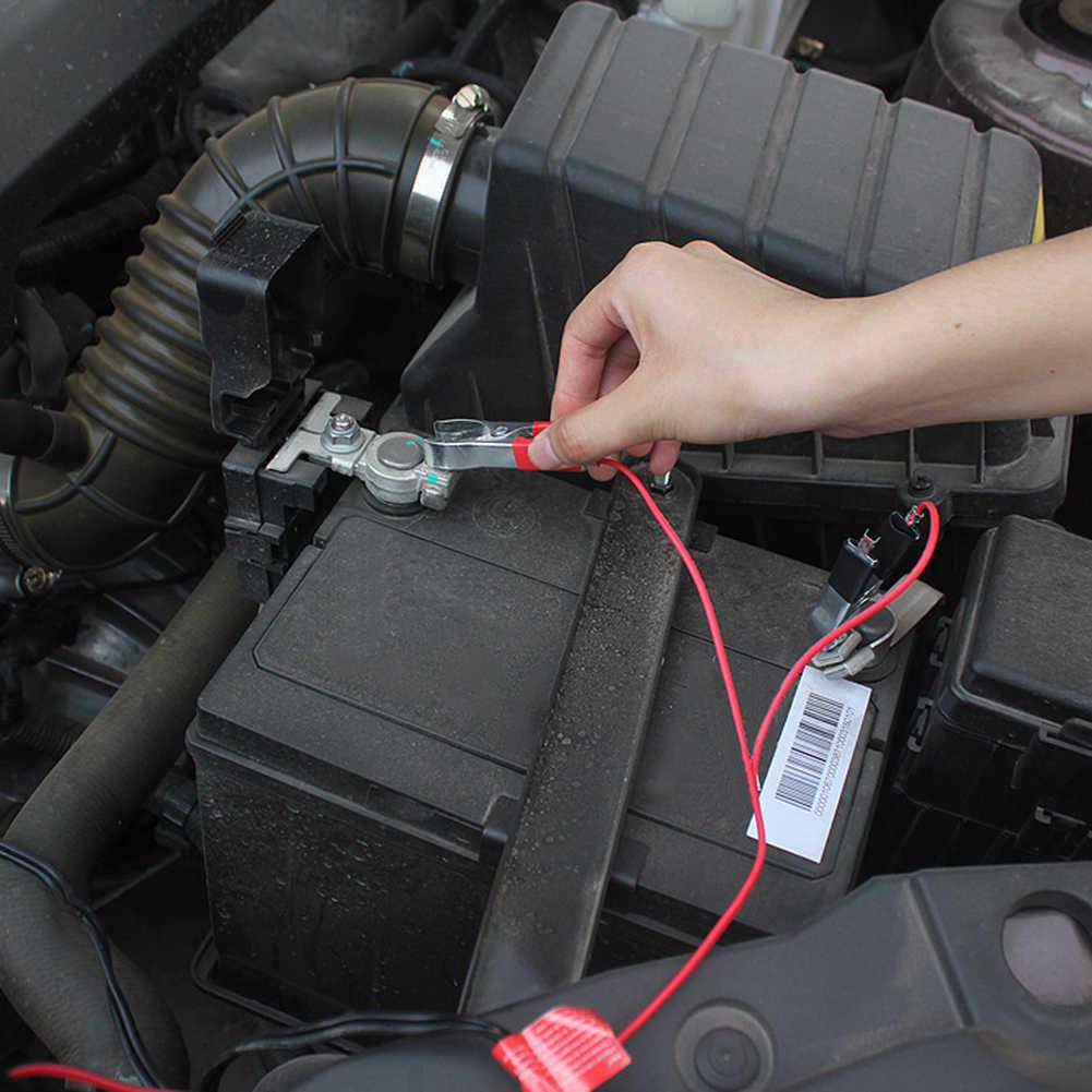 12V trwałe urządzenie do awaryjnego uruchamiania samochodu Conncetor przewód awaryjny kabel wspomagający zacisk akumulatora
