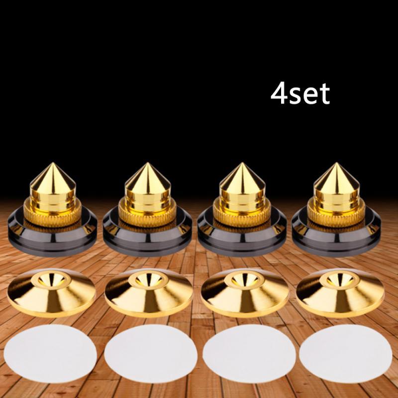 4 пары миниатюрных шипов для динамиков, запасные части, подставка для динамика «сделай сам», штифты и колодки, аксессуары