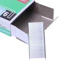 1000 pçs/caixa 24/6 grampos de metal para grampeador material escolar de escritório artigos de papelaria novo