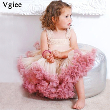 Vgiee Kids Dresses Girls Party Birthday Summer Girl Dress 4 5 Years Fasion Ball Gown Princess Dress Girls Toddler Girl Clothes baby kids girl dress toddler princess party ball gown dress for girls clothes children princess dresses birthday wedding gown
