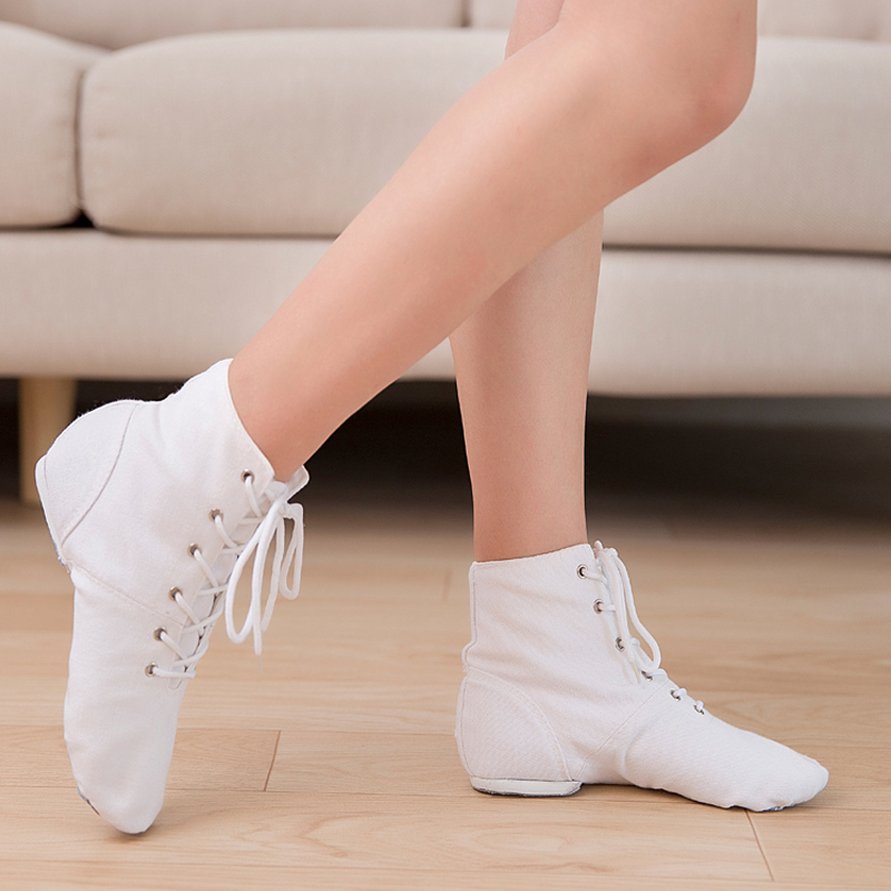 Women Sport Modern Dance Shoes Boots Girls Students Training Ballet Dancing Shoes Ladies Jazz Dance Sneakers Zapatos De Mujer