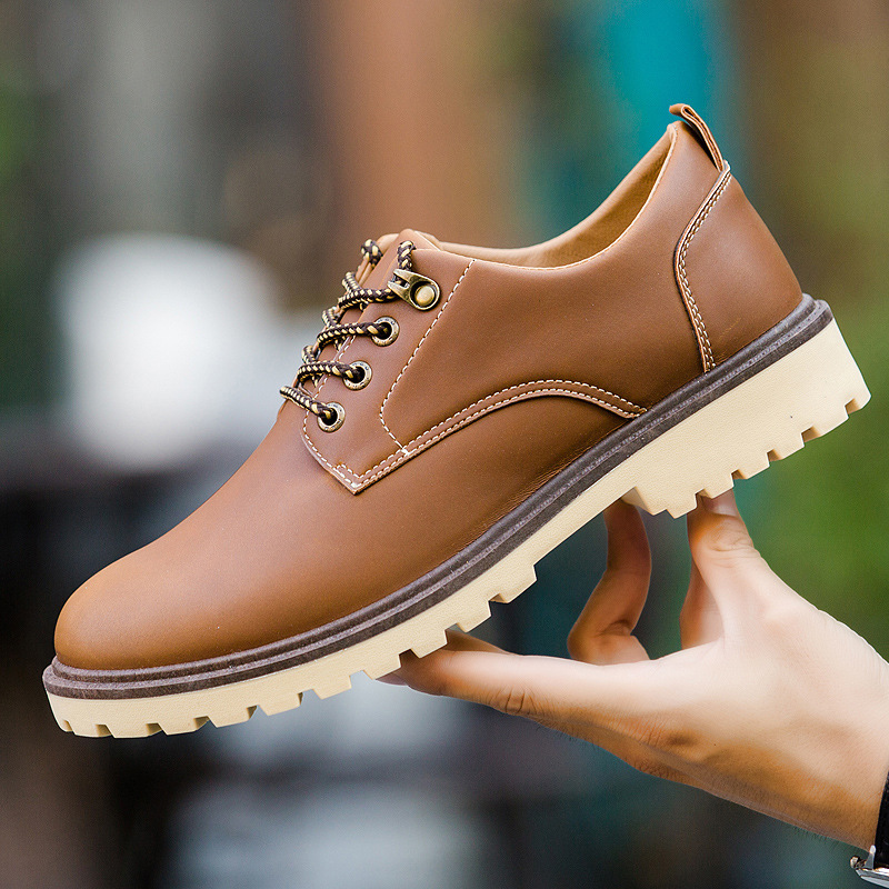 Casual Shoes Men 2020 Fashion Spring Shoes Man Brand Design Men Leather Casual Sneakers Leisure Footwear Cowboy Style Men Shoes