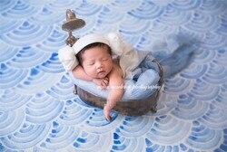 Bañera Retro-accesorios para fotografía de bebé recién nacido bañera cretiva cesta infantil Estudio de fotos accesorios de fotografía
