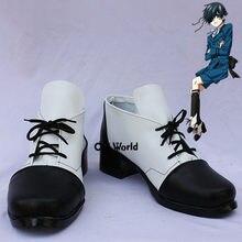 Chaussures de Cosplay à personnaliser, noir, majordome, Ciel, fantôme, ruche, Anime