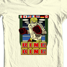 Ring King T-Shirt Vintage Retro Arcade Video Game Tee Free Shipping Old School Confortable Tee Shirt