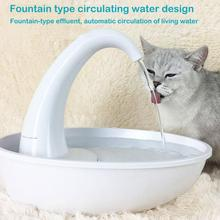 2.34L Automatic Cat Water Dispenser Fountain Drinking Cat Drinker Bowl Device Electric Water Fountain Drinking Bowl For Cats