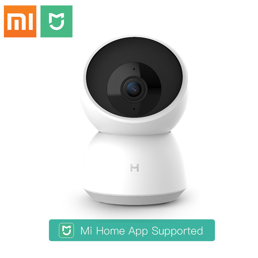 Xiaomi Mijia Smart Camera Webcam 1296P HD WiFi Pan-tilt Night Vision 360 Angle Video Camera View Baby Security Monitor