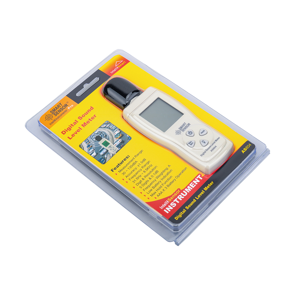 Fonometro digitale Misura 30-130 dB Rumore dB Decibel Tester di - Strumenti di misura - Fotografia 6