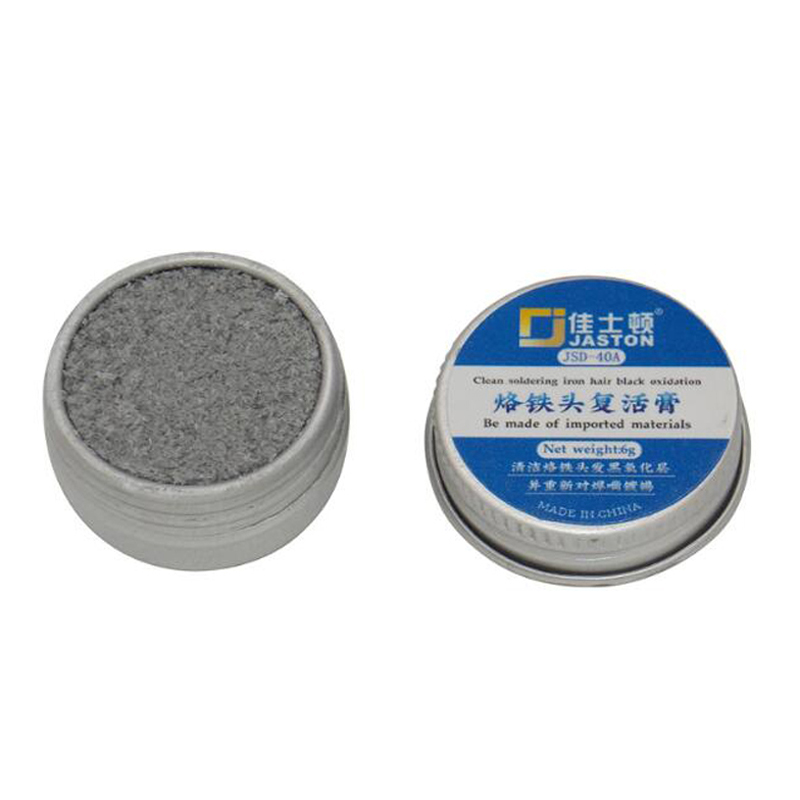 1PCS 40A Soldering Iron Tip Refresher Clean Paste For Oxide Solder Iron Tip Head Resurrection