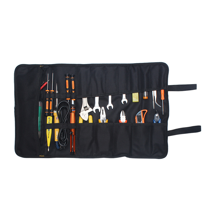 Realmote Multifunction Tool Bag Oxford Cloth Portable Canvas ToolOrganizer Toolkit For Repair Installation