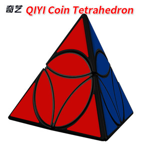 Новая монета XMD Qiyi Mofangge Tetrahedron Yuanpan Pyra Speed Magic-Cube профессиональные нерегулярные кубики-головоломки подарок Cubo Magico