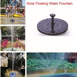 Solar Fountain Solar Floating Water Fountain Pump Outdoor Fountain for Pool Pond Garden Decoration(China)