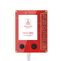 QianLi mega-idea ekran LCD prawdziwy dźwięk naprawa programista wibracje/światłoczułe dla iPhone 7 8 XR XS Max dobry jak Qianli iCopy