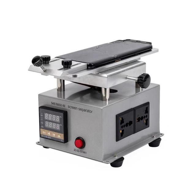Mini Rotable LCD Separator Heating Plate Station for Mobile Phone Flat Edge Screen Glass Split Machine Separating Repair Tools