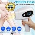 999999 вспышка IPL лазерная машина для удаления волос лазерный эпилятор устройство для удаления волос постоянный Триммер бикини depilador лазер для...