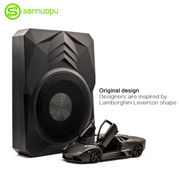 SENNUOPU active subwoofer of 380W RMS car with aluminum case audio upgrade bass