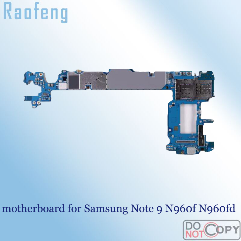Raofeng for Samsung Note 9/N960f/Motherboard/.. Logic-Board Unlocked Original title=