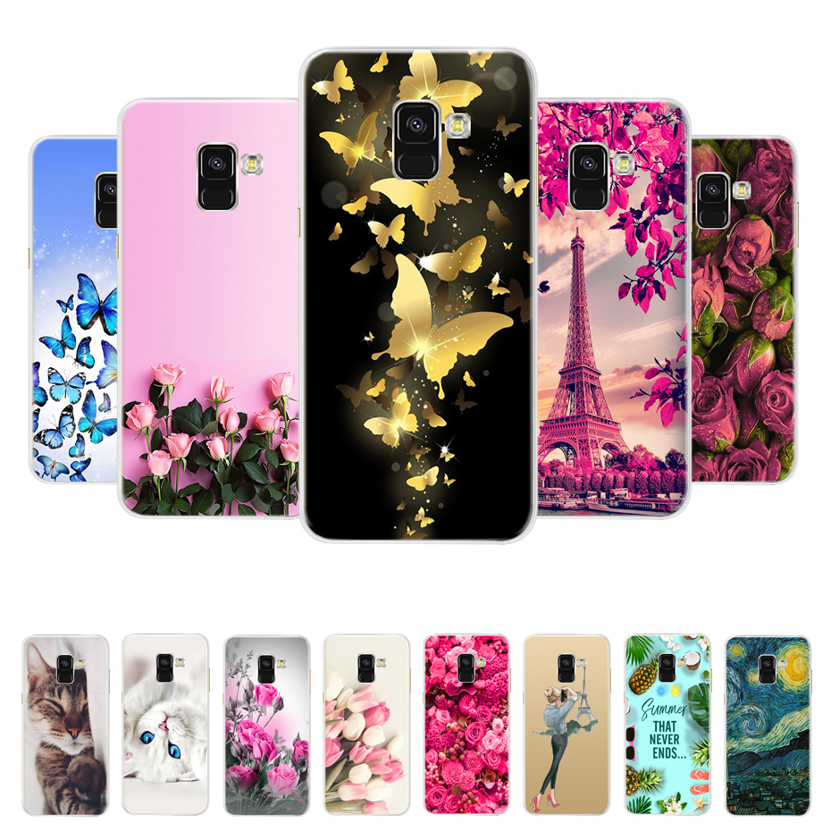 For Samsung <font><b>Galaxy</b></font> A8 <font><b>2018</b></font> Case Samsung A8 Plus A730F Silicone Soft TPU Phone Back Cover Case For <font><b>Galaxy</b></font> A8 <font><b>A</b></font> <font><b>8</b></font> <font><b>2018</b></font> A530 Hoesje image
