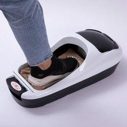 التلقائي آلة تغطية الحذاء مكتب المنزلية الحذاء الوحيد غطاء آلة أغطية الحذاء مقاوم للماء تنظيف مع لفة فيلم الهدايا