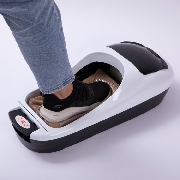 Automatic Shoe Cover Machine Office Household Shoe Sole Cover Machine Waterproof Shoe Covers Cleaning With Roll Film Gifts